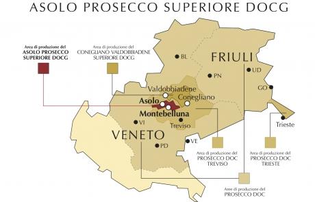 Zona Asolo Prosecco Superiore D.O.C.G.