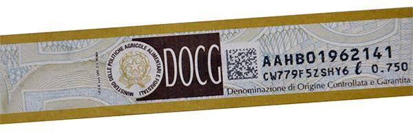 Prosecco DOCG certificazione